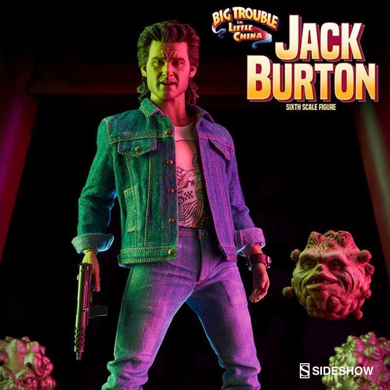 Jack Burton - Big Trouble in Little China - 1/6 Scale Figur