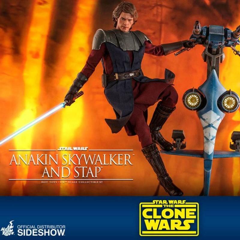 Anakin Skywalker & STAP - Star Wars The Clone Wars - 1/6 Scale Figur