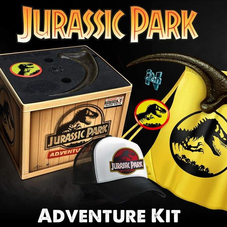 Adventure Kit - Jurassic Park - Sammlerbox