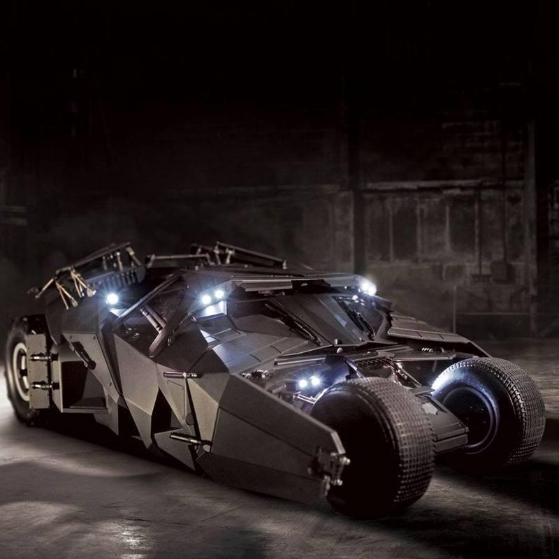 Tumbler Driver Pack 37 - The Dark Knight - 1/12 RC Fahrzeug