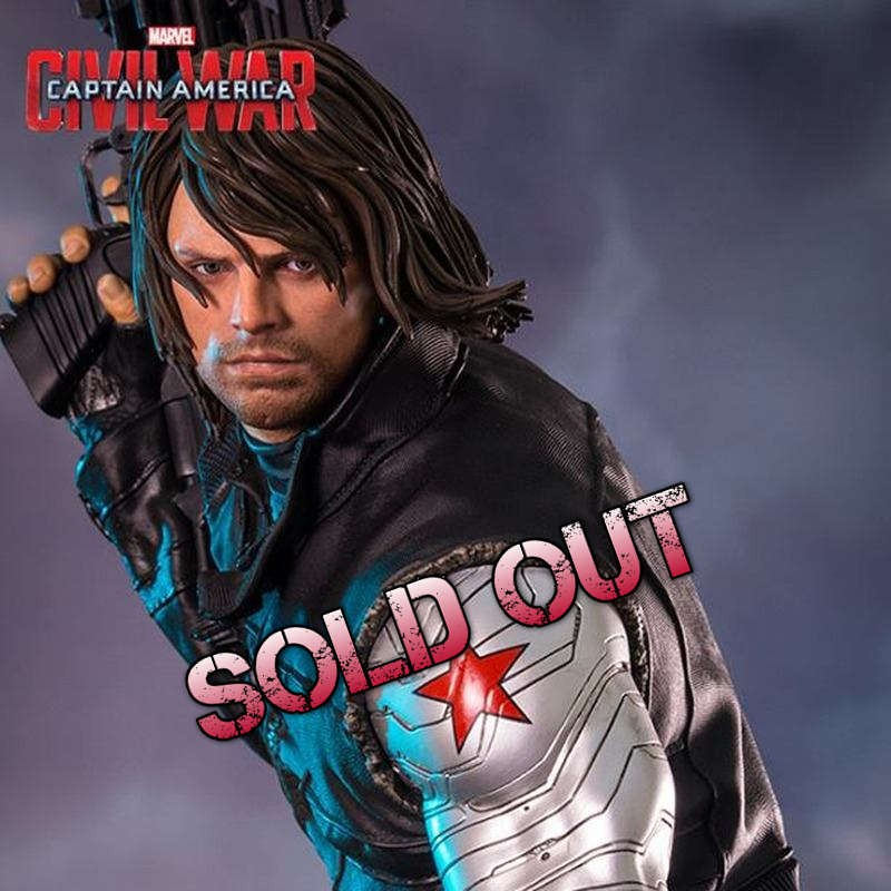 Winter Soldier - Captain America Civil War - 1/4 Scale Statue
