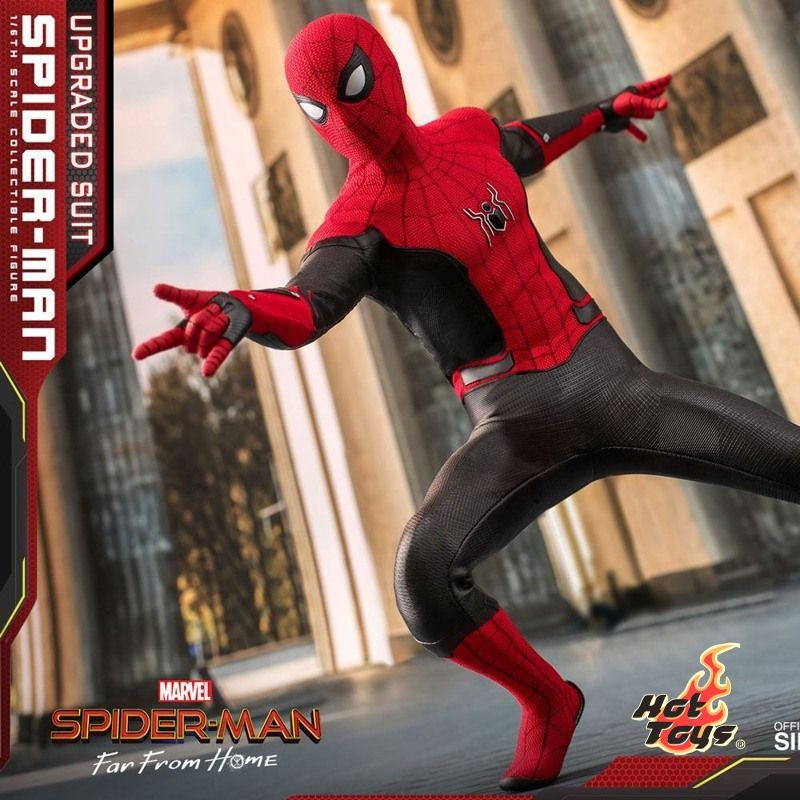 Spider-Man (Upgraded Suit) - Spider-Man: Far From Home - 1/6 Scale Figur