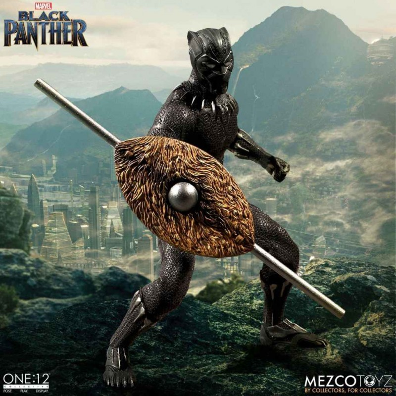 Black Panther - Marvel Universe - 1/12 Scale Figur