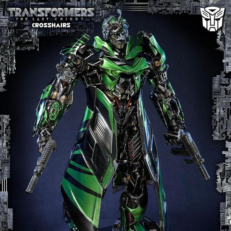 Crosshairs - Transformers The Last Knight - Polystone Statue
