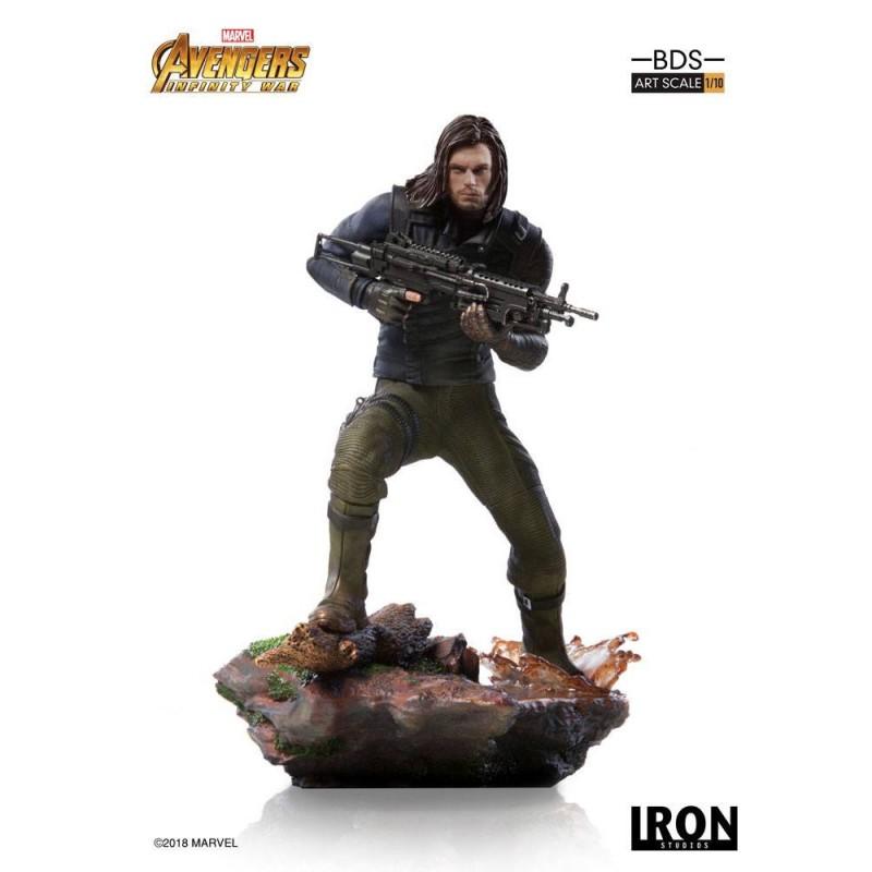 Winter Soldier - Avengers Infinity War - BDS Art 1/10 Scale Statue