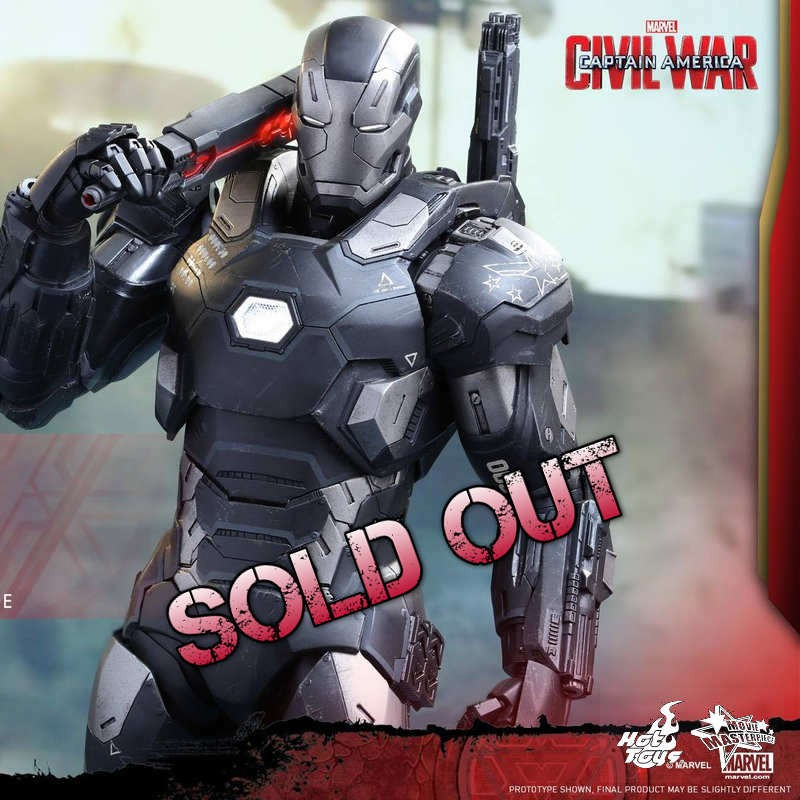 War Machine - Civil War - Diecast 1/6 Scale Figure