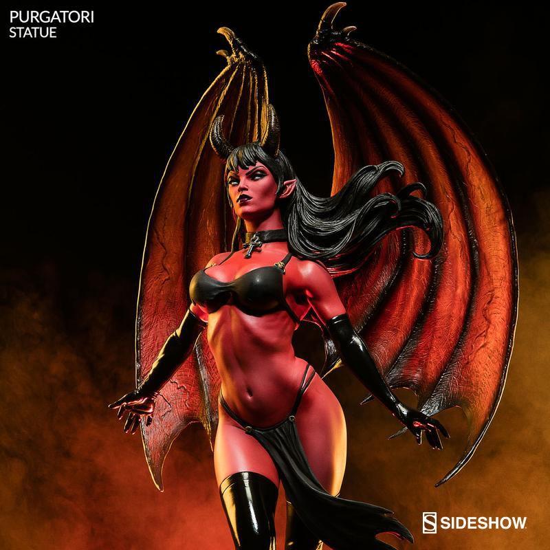 Purgatori - Women of Dynamite - Polystone Statue
