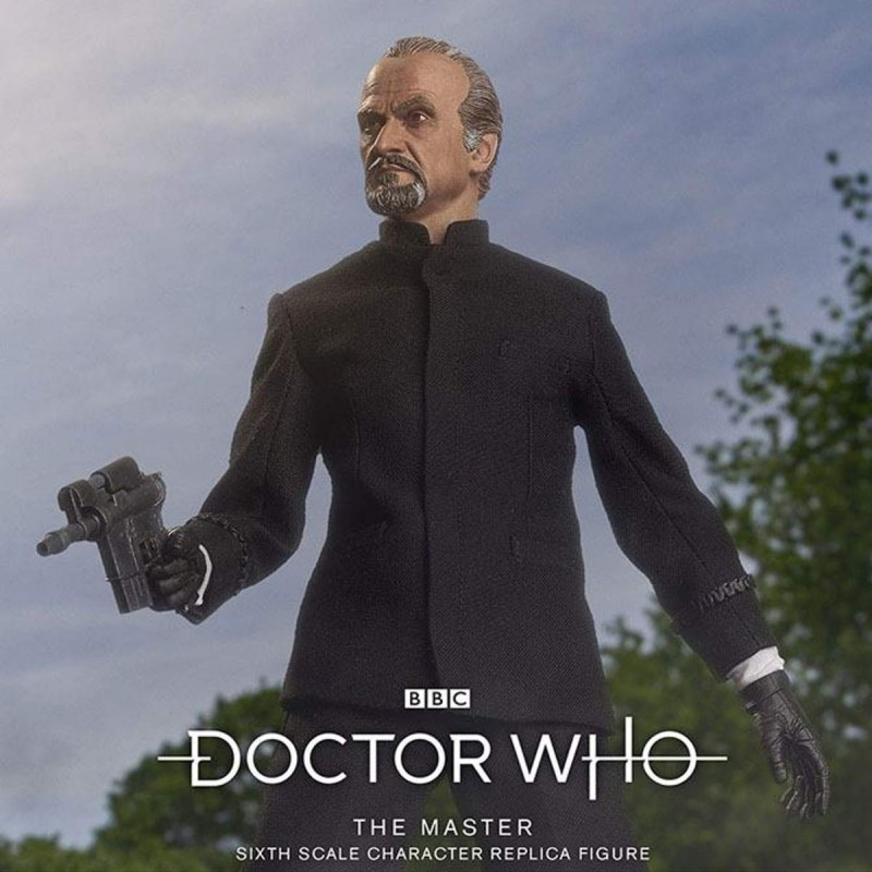 The Master (Roger Delgado) Limited Edition - Doctor Who - 1/6 Scale Figur