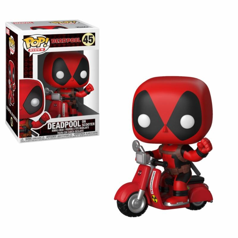 Deadpool & Scooter - Marvel - Rides POP! Vinyl Figur
