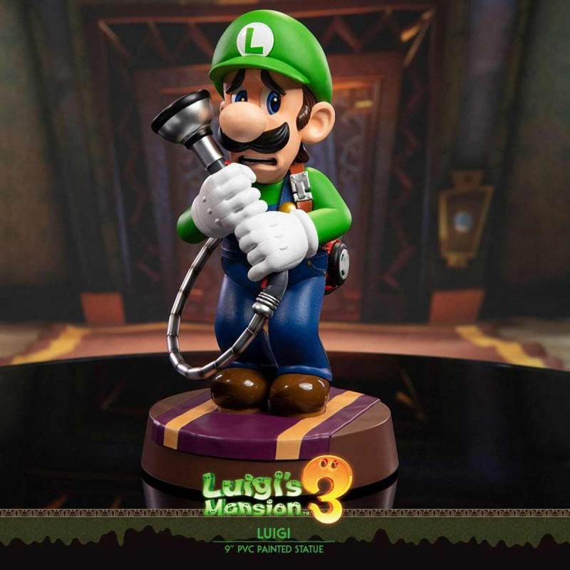 Luigi - Luigi's Mansion 3 - PVC Statue