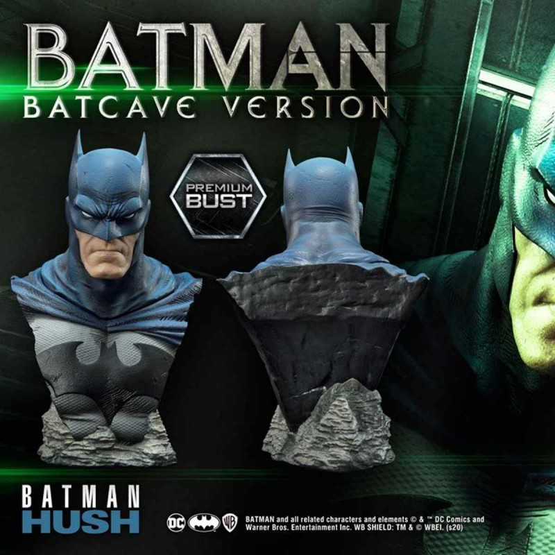 Batman Batcave Version - Batman Hush - 1/3 Scale Premium Büste