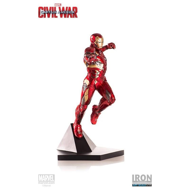 Iron Man Mark XLVI - Captain America Civil War - 1/10 Scale Statue