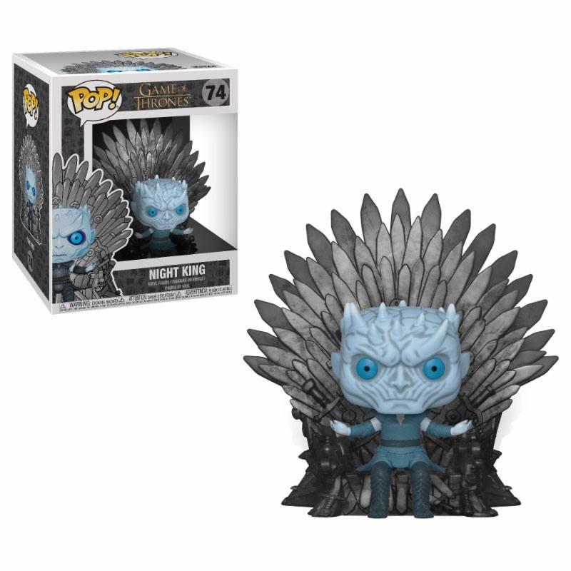 Night King on Iron Throne - Game of Thrones - Deluxe POP! Vinyl Figur