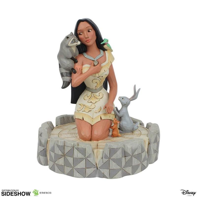 White Woodland Pocahontas - Resin Statue