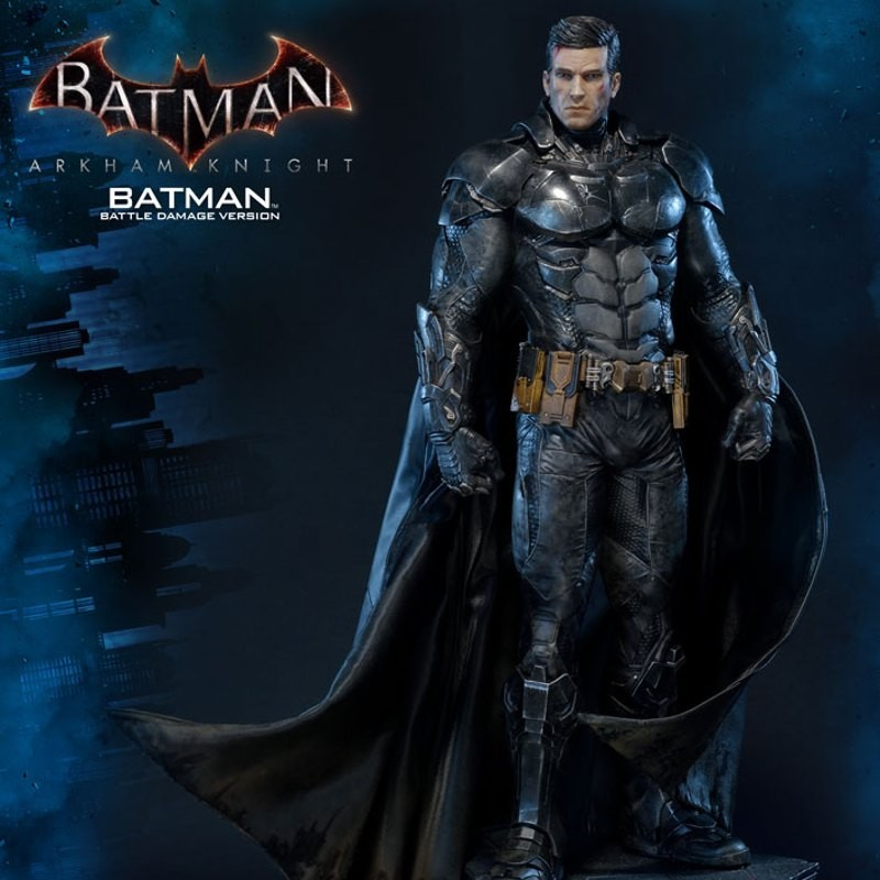Batman Battle Damage Version - Arkham Knight - 1/3 Scale Statue