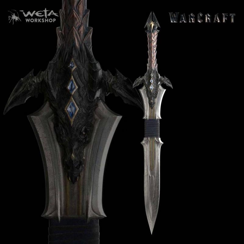 Schwert von Lothar - Warcraft - 1/1 Replik