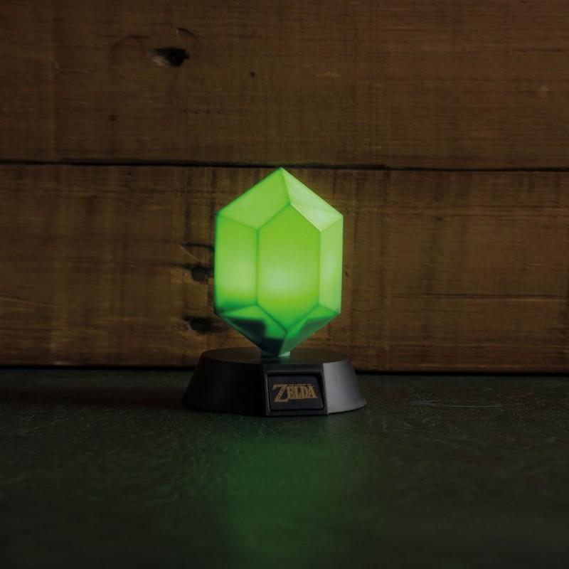 Grüner Rubin - Legend of Zelda - Lampe