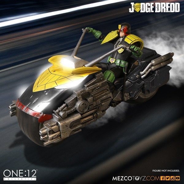 Judge Dredd's Lawmaster - Judge Dredd - 1/12 Scale Fahrzeug