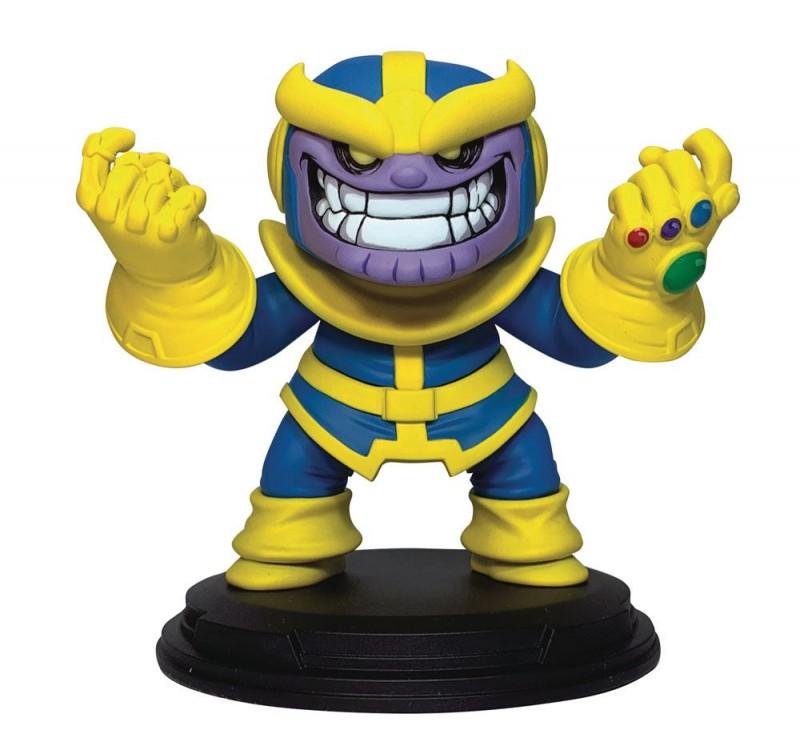 Thanos - Marvel Comics Animated Series - Mini-Statue 10cm
