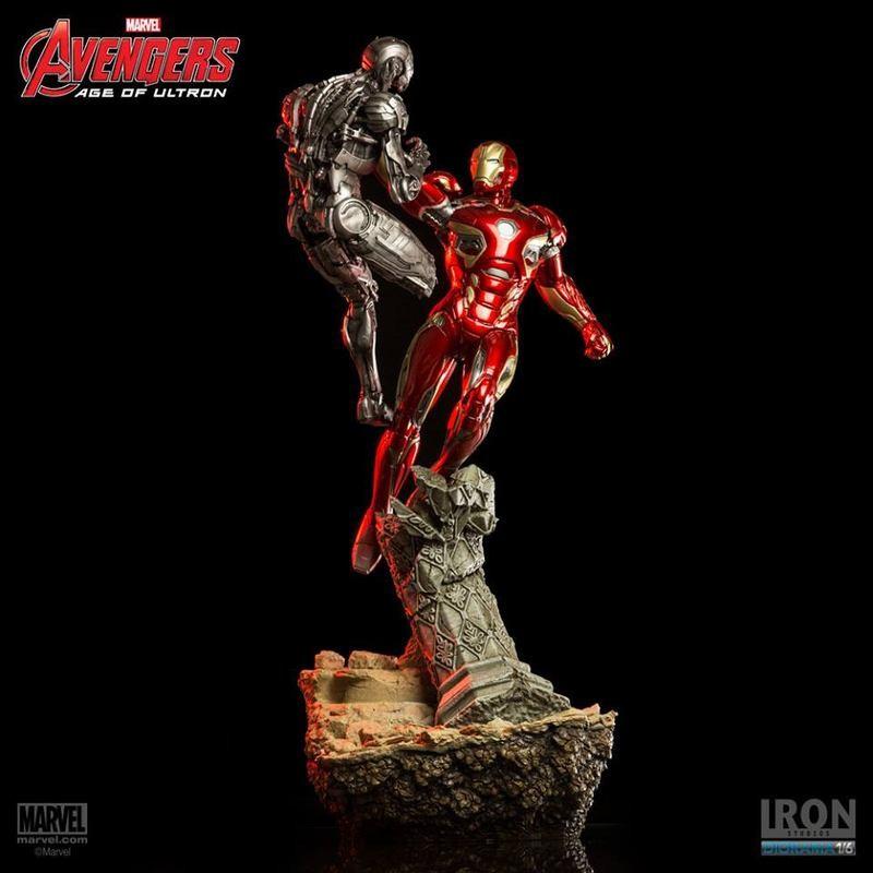 Iron Man Mark XLV - Avengers - 1/6 Scale Diorama