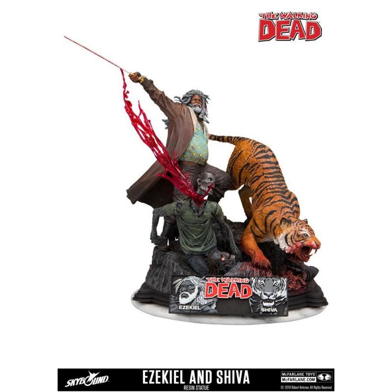 Ezekiel & Shiva - The Walking Dead - Resin Statue