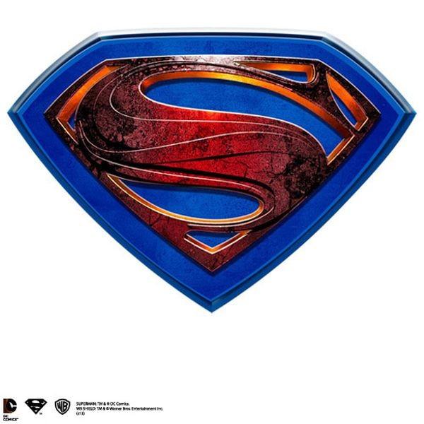 Man of Steel Logo - Man of Steel - Wandschmuck