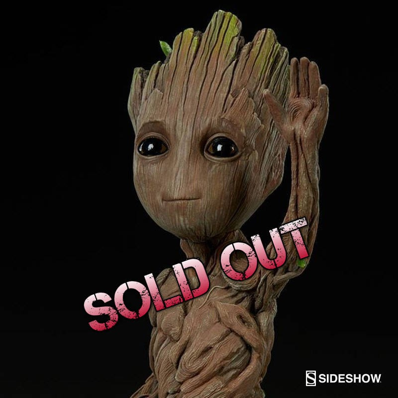Baby Groot - Guardians of the Galaxy - Life-Size Maquette