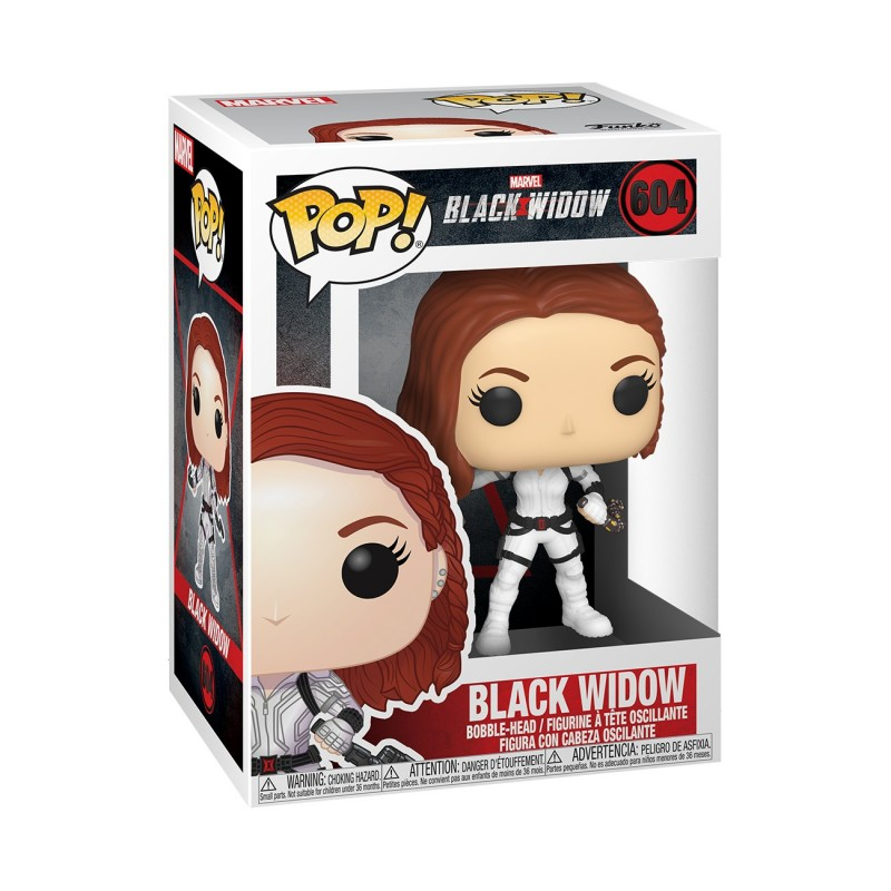 Black Widow (White Suit) - Marvel - Black Widow POP! Vinyl Figur