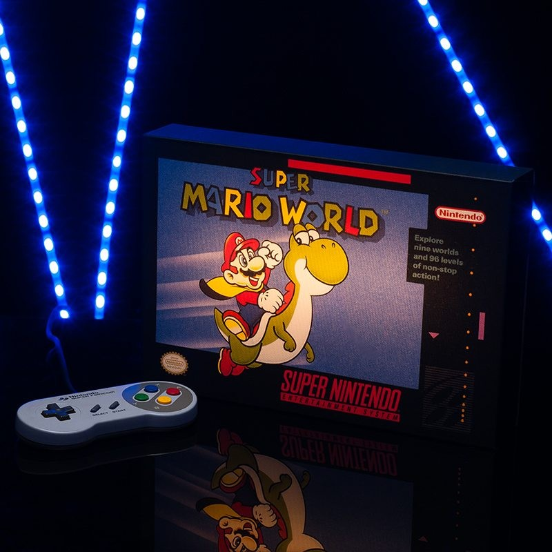 Super Mario World - Super Nintendo - Luminart