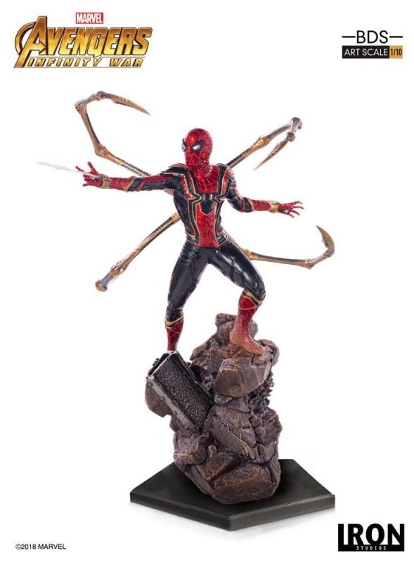 Iron Spider-Man - Avengers Infinity War - BDS Art 1/10 Scale Statue