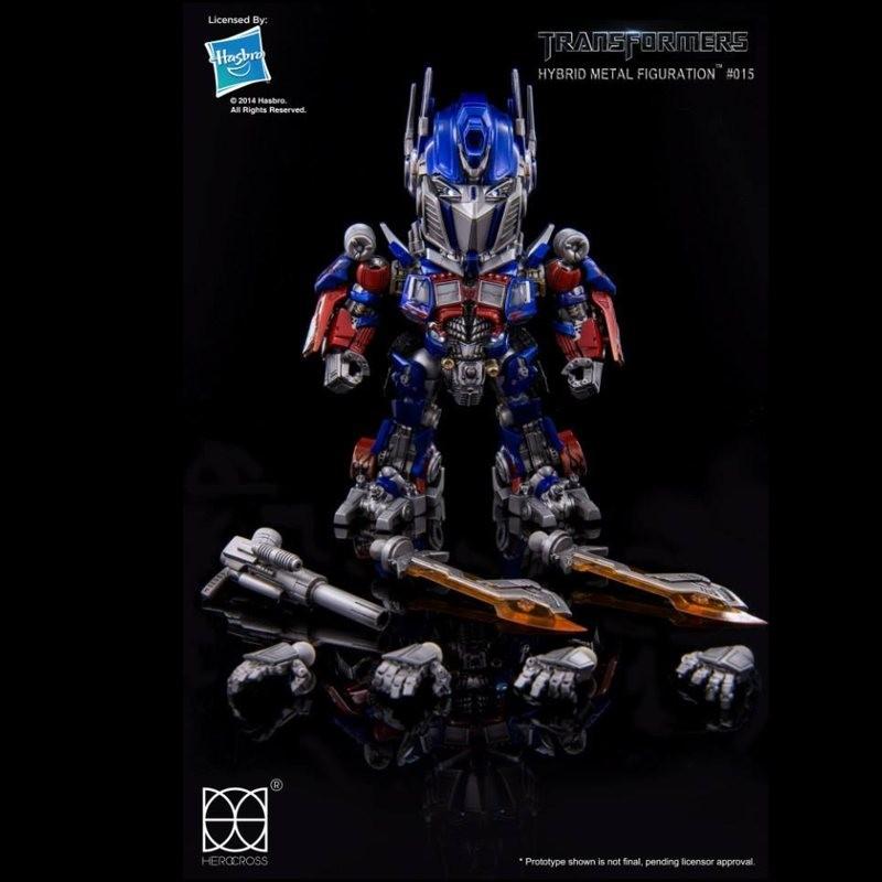 Optimus Prime - Transformers - Hybrid Metal Figuration
