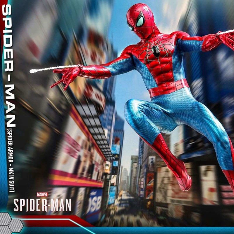 Spider-Man (Spider Armor MK IV Suit) - Marvel's Spider-Man - 1/6 Scale Figur