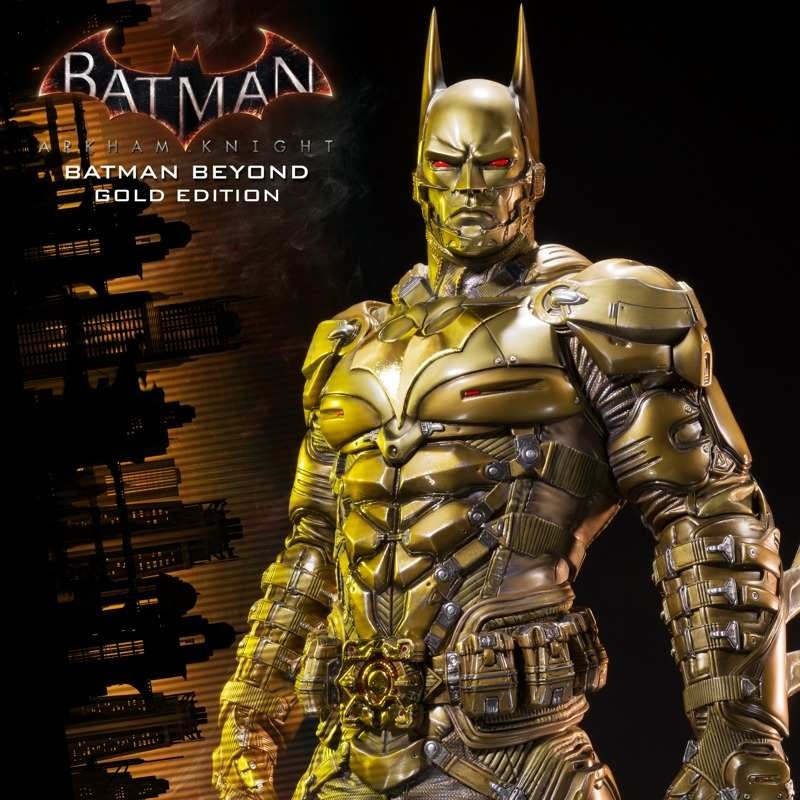 Batman Beyond Gold Edition - Arkham Knight - 1/3 Scale Statue