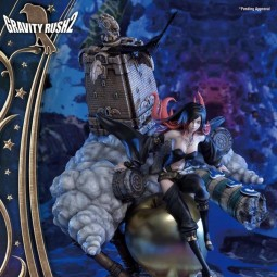 Raven - Gravity Rush 2 - Polystone Statue