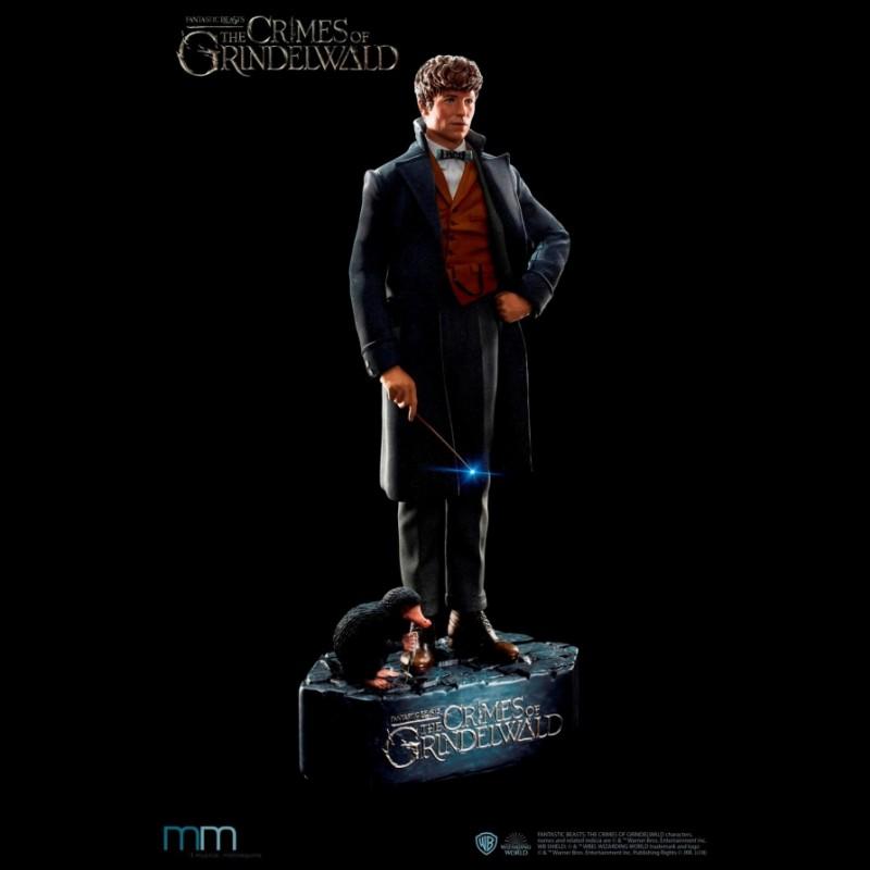Newt - Fantastic Beasts - Life-Size Statue