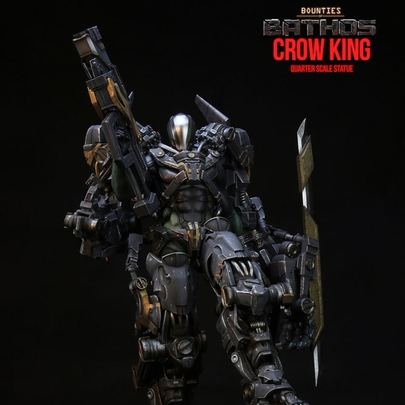 Crow King - Bounties of Bathos - 1/4 Scale Statue