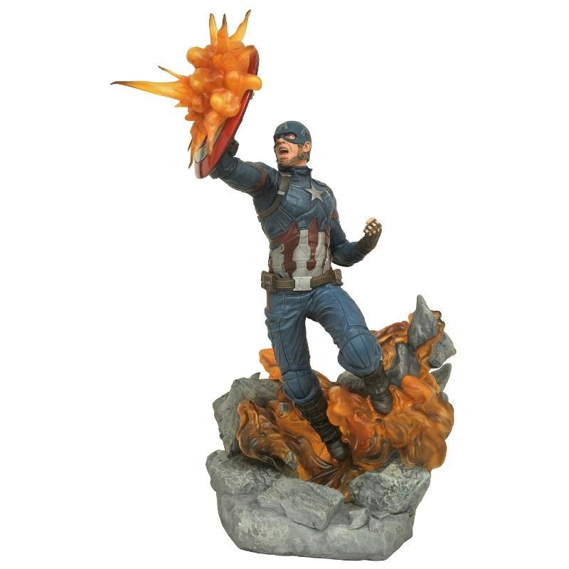Captain America (Civil War) - Marvel Milestones - Resin Statue
