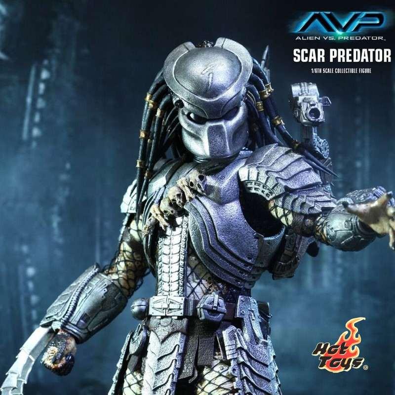 Scar Predator - AVP - 1/6 Scale Action Figur