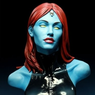 Mystique - Legendary Scale Bust
