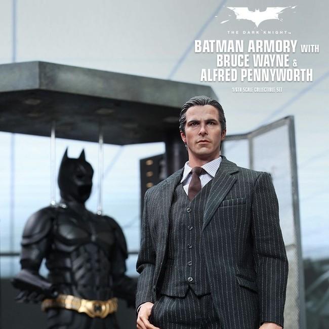Batman Armory mit Bruce Wayne & Alfred