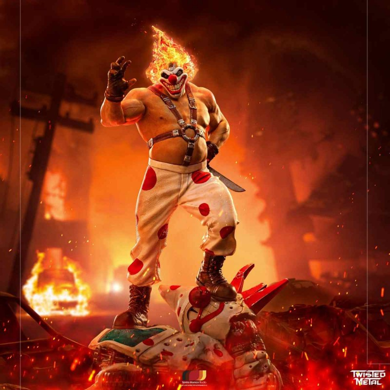 Sweet Tooth - Twisted Metal - Art Scale 1/10 Statue