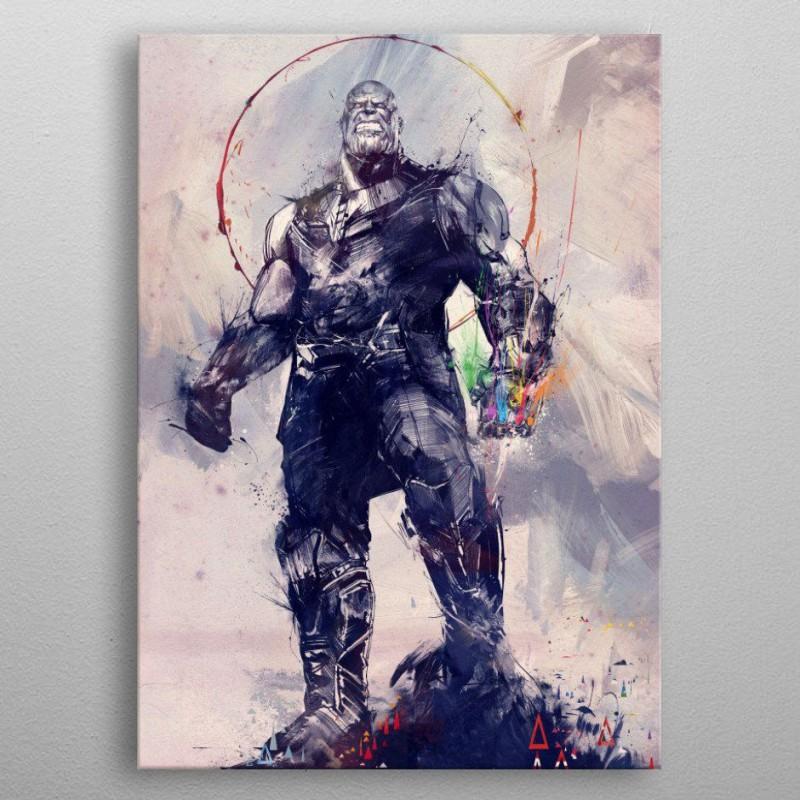 Infinity War Infinity Gauntlet - Marvel - Metall-Poster