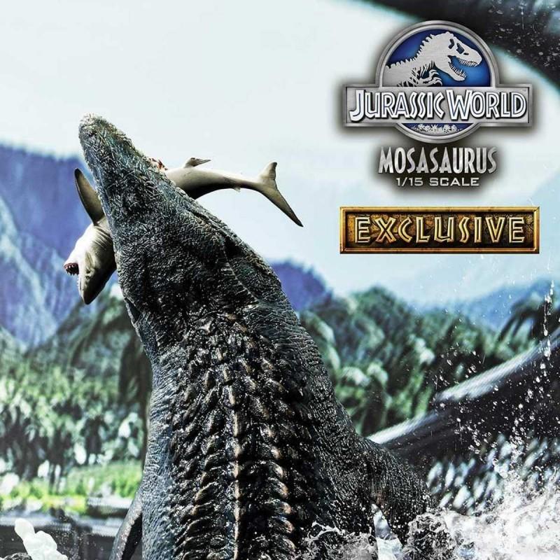 Mosasaurus Exclusive Version - Jurassic World - 1/15 Scale Polystone Statue