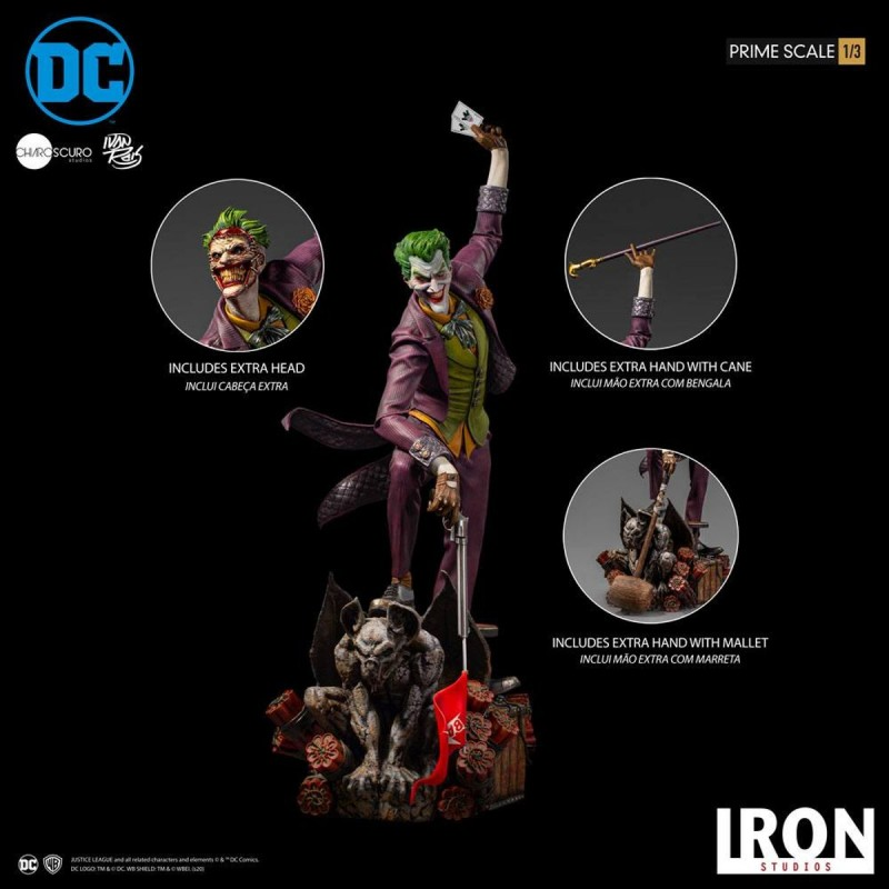 The Joker by Ivan Reis - DC Comics - 1/3 Prime Scale Statue