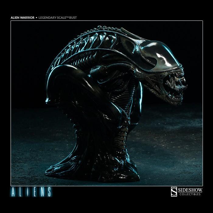 Alien Warrior: Aliens - Legendary Scale Büste
