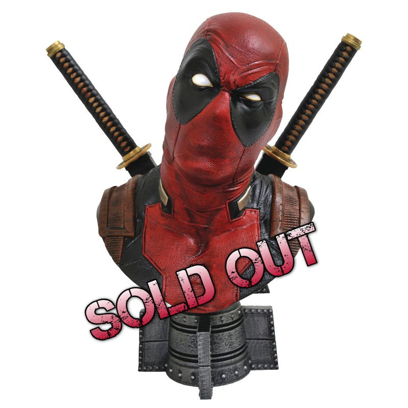 Deadpool - Comics Marvel - 1/2 Scale Legendary Büste