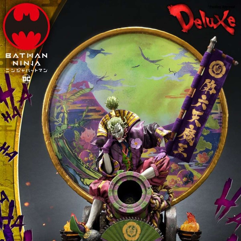 Sengoku Joker Deluxe Version - Batman Ninja - Polystone Statue