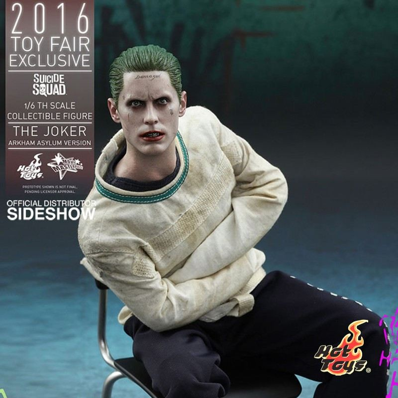 The Joker (Arkham Asylum Ver.) - Suicide Squad - 1/6 Scale Figur