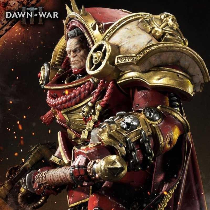 Gabriel Angelos - Warhammer 40K Dawn of War III - Polystone Statue