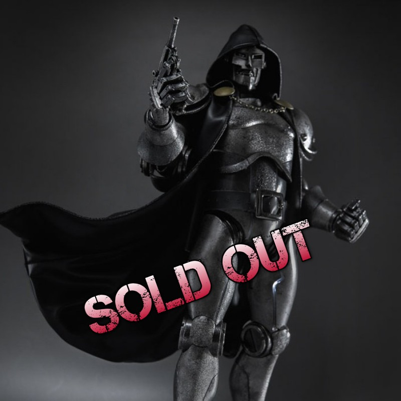 Doctor Doom Stealth 1/6 Scale Actionfigur
